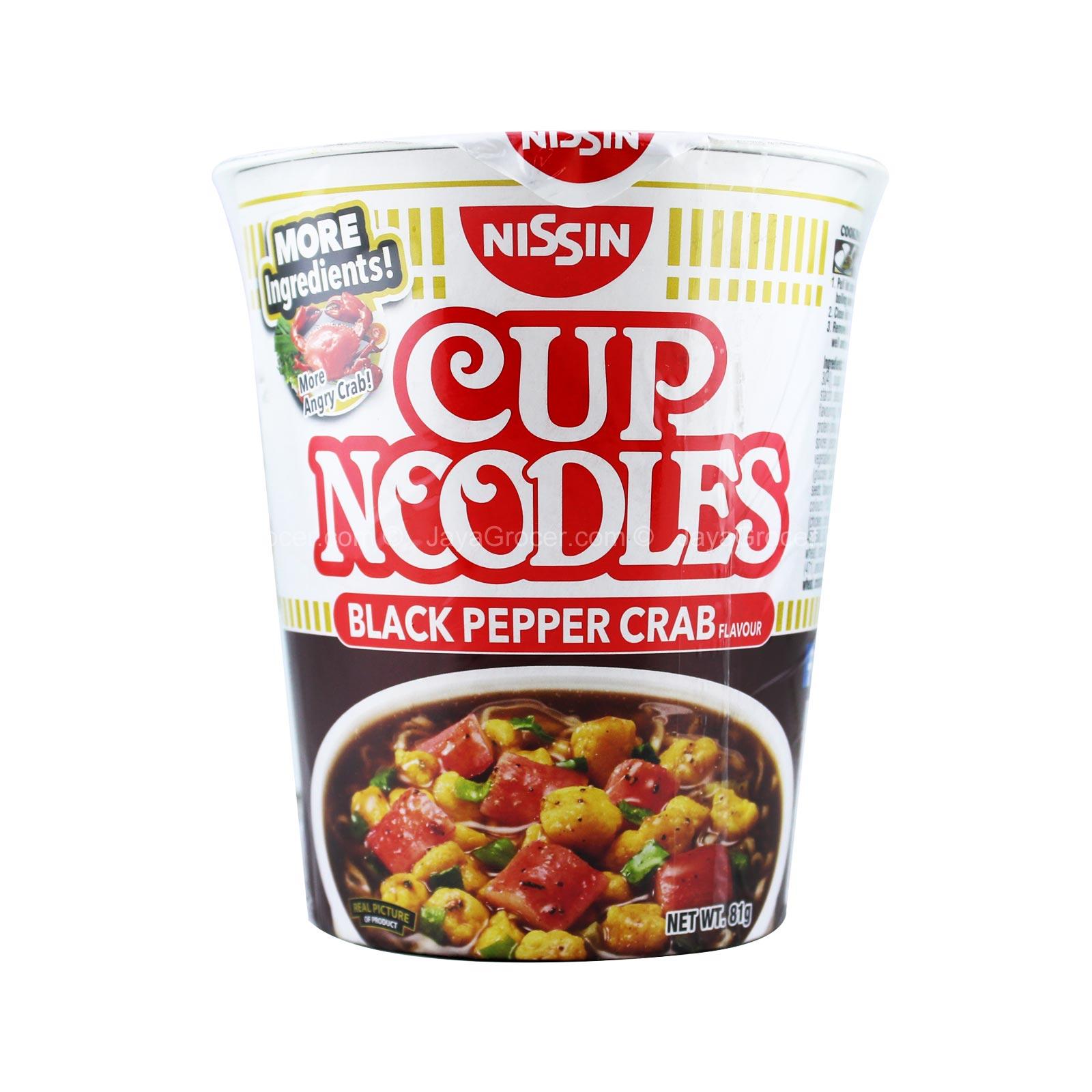 Cup Noodles Black Pepper Crab | Sumber: Jaya Grocer