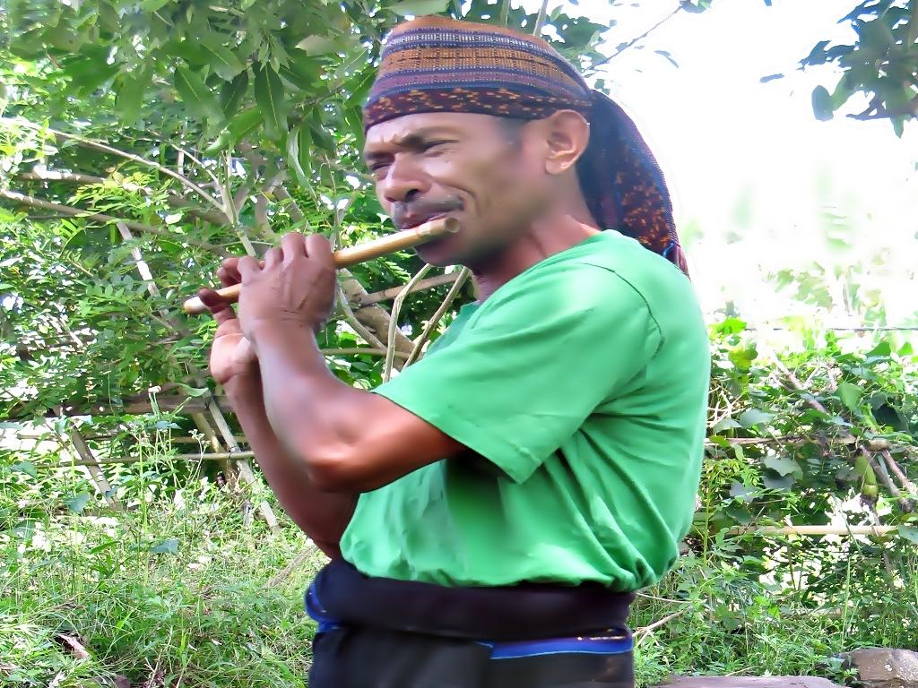 Ignatius Leta Odja, pelopor penggerak ekowisata di desa Waturaka, kecamatan Kelimutu, kabupaten Ende, NTT | Foto: Ebed de Rosary/Mongabay Indonesia