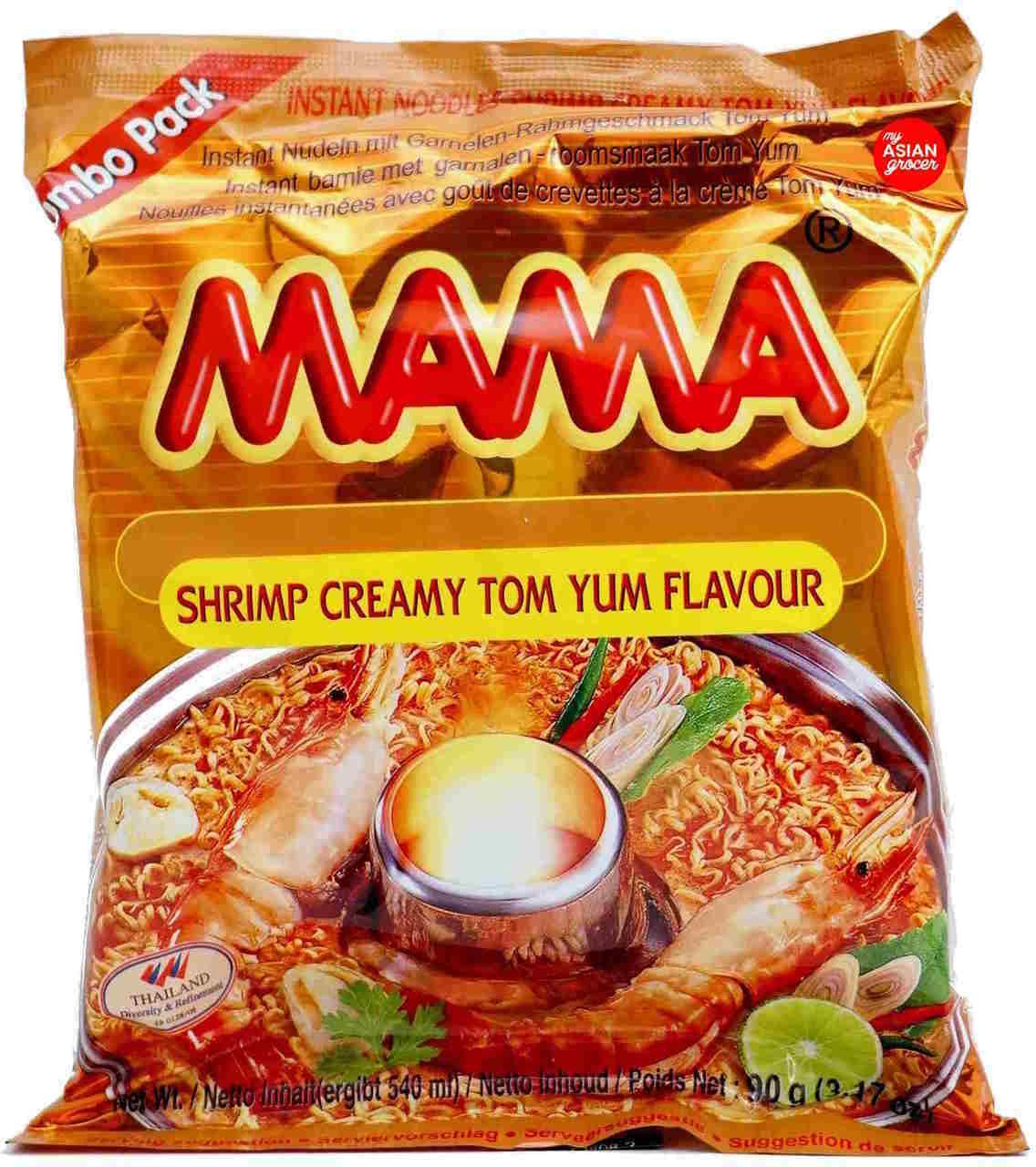 Mama Instant Noodles Shrimp Creamy Tom Yum