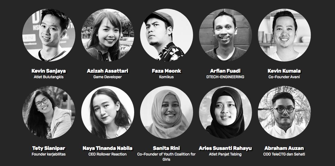 Top 10 Pemuda Indonesia pada OPINI90 | Sumber: Opini.id