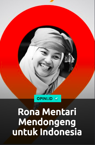 Rona Mentari | Sumber: Opini.id