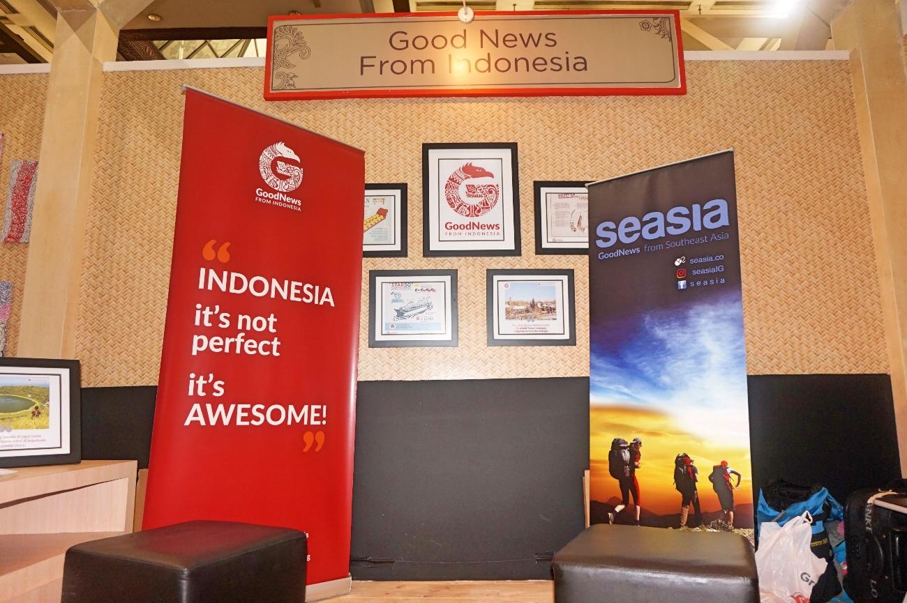 Booth GNFI di Inspirasi 60 Tahun Astra (Foto: Bagus DR / GNFI)