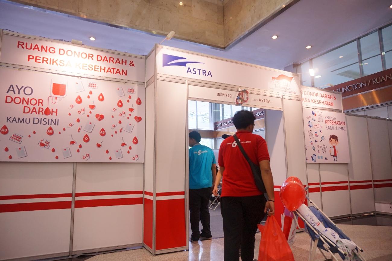 Pojok Donor Darah (Foto: Bagus DR/GNFI)