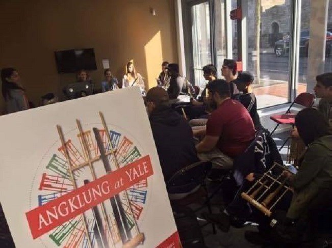 Angklung at Yale (Foto: dok. atdikbud DC)