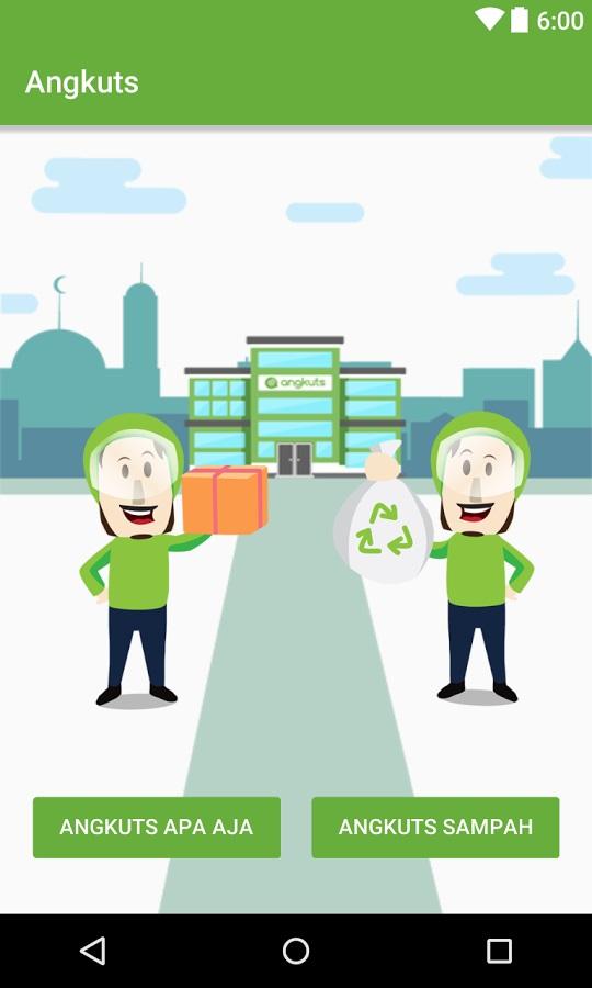 Tampilan aplikasi Angkuts (Gambar: play.google.com)