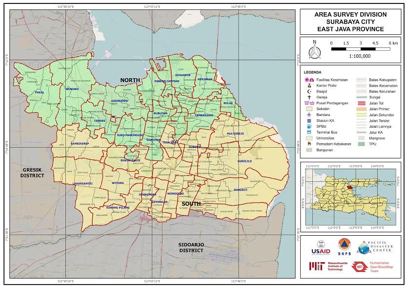 Area Survey (Gambar: Openstreetmap.id)