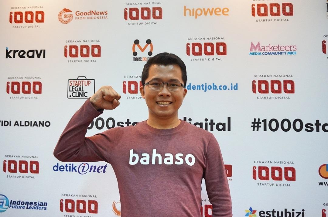 Tyovan Ari Widagdo, Founder dan CEO Bahaso (Foto: Bagus DR / GNFI)