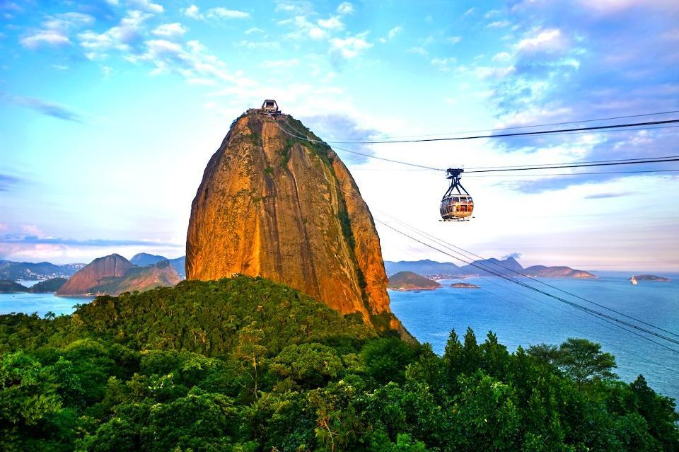 Kereta Gantung di Brazil (Foto: iStock via Forbes)