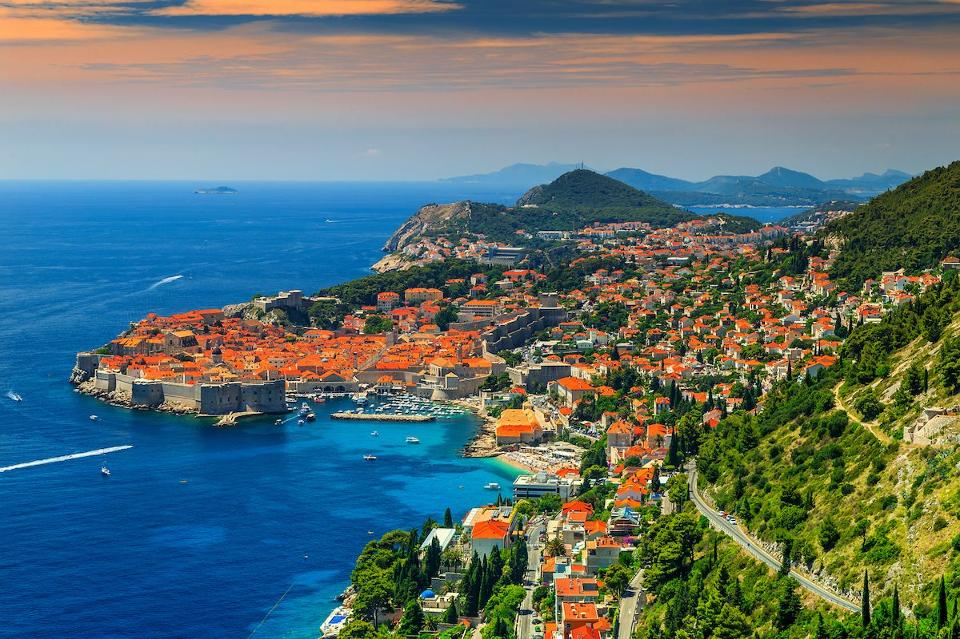 Pesisir Kroasia di Mediterania (Foto: iStock via Forbes)