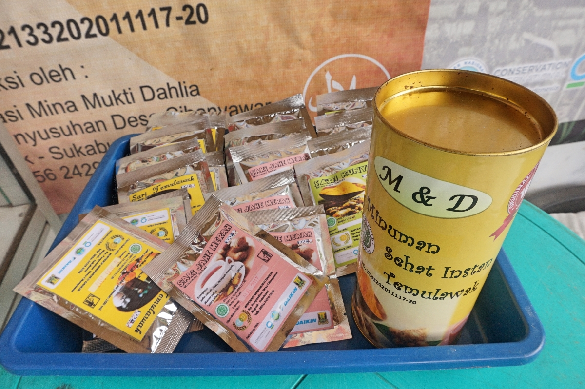Produk Koperasi Mina Mukti Dahlia (Foto: Bagus DR / GNFI)