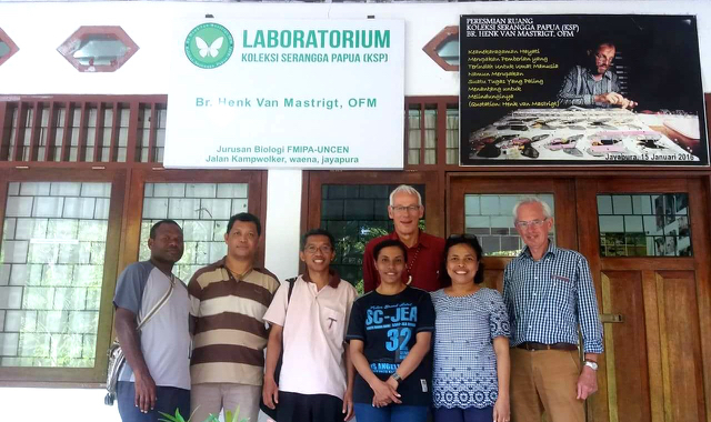 Laboratorium Henk van Mastrigt (Foto: Astrida Elisabeth / Mongabay Indonesia)