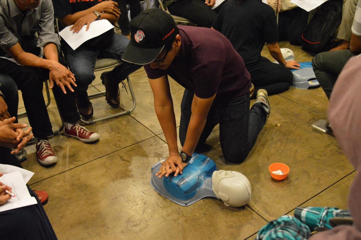 Salah satu pelatihan yang ada di Festival Relawan (Foto: dok. Campaign.com)