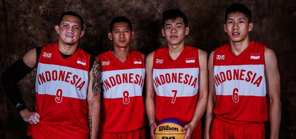 Tim Putra basket 3x3 Merah Putih (Foto: fiba.com)