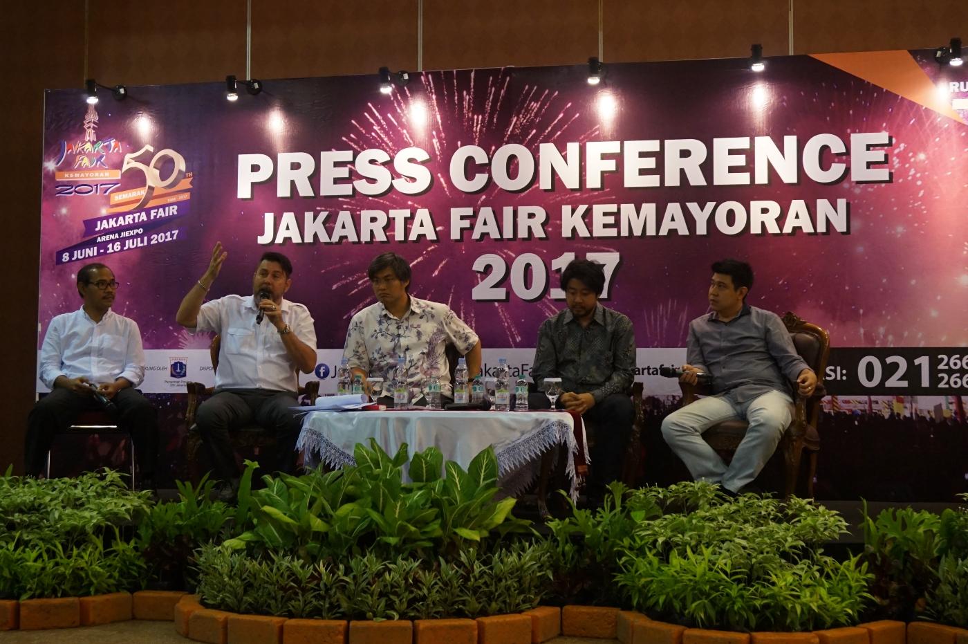 Konferensi pers Jakarta Fair (5/6) (Foto: Bagus DR/GNFI)