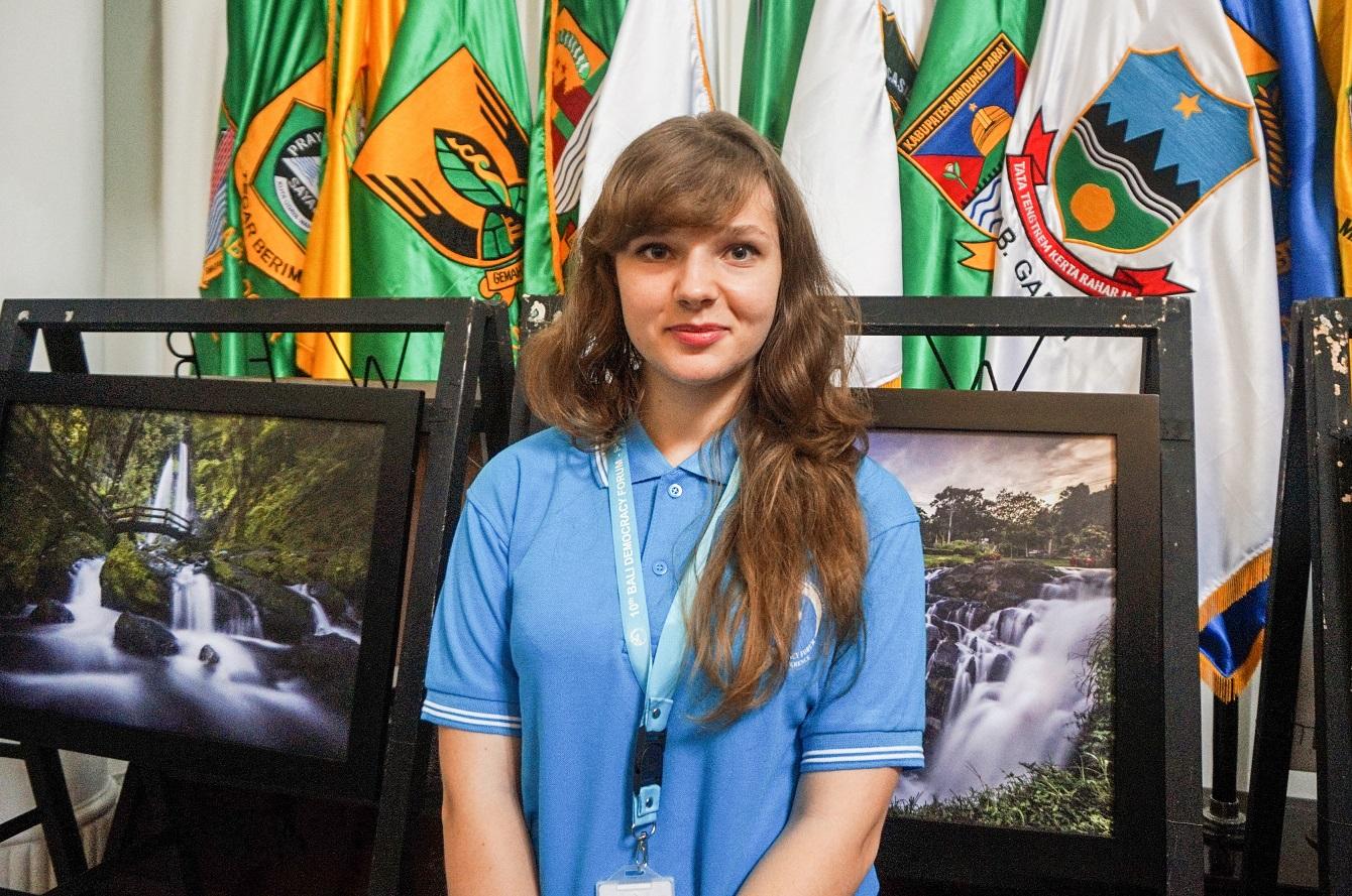 Maryna Kyrylchuk (Foto: Bagus DR/GNFI)