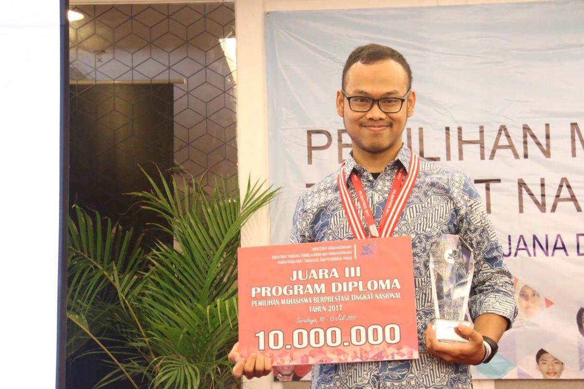 Muhammad Wildan Fauzan Supriana (Foto: ristekdikti.ac.id)