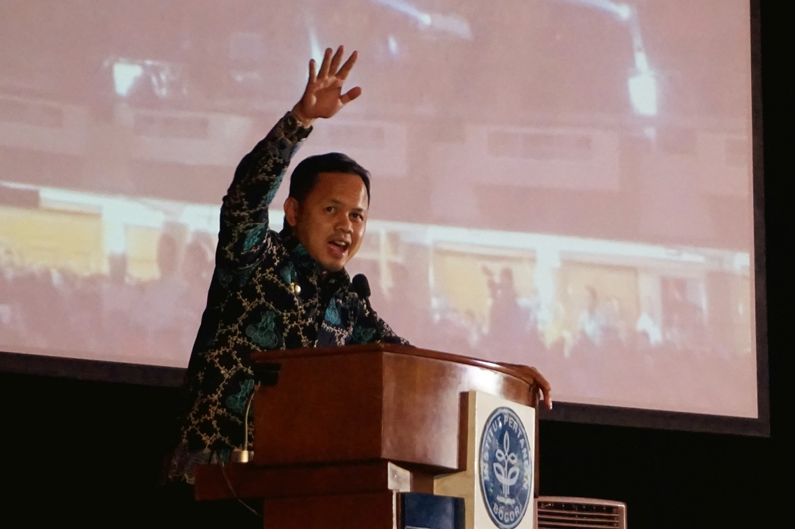 Walikota Bogor, Dr. Bima Arya Sugiarto (Foto: Bagus DR / GNFI)