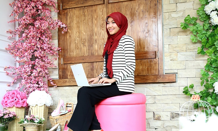 Andina Nabila Irvani, pemilik Slight (Foto: Qlapa.com)