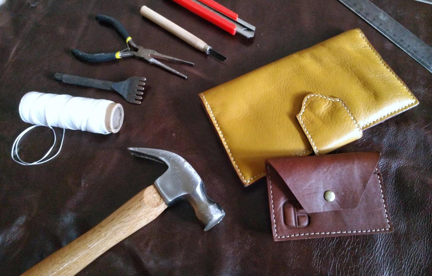 Beberapa produk lain karya Diby Leather (Foto: Qlapa.com)