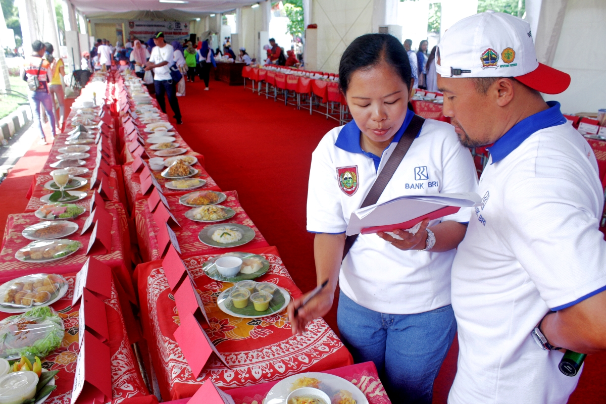Deretan pangan olahan dari Jagung (Foto: Arif Budi / GNFI)