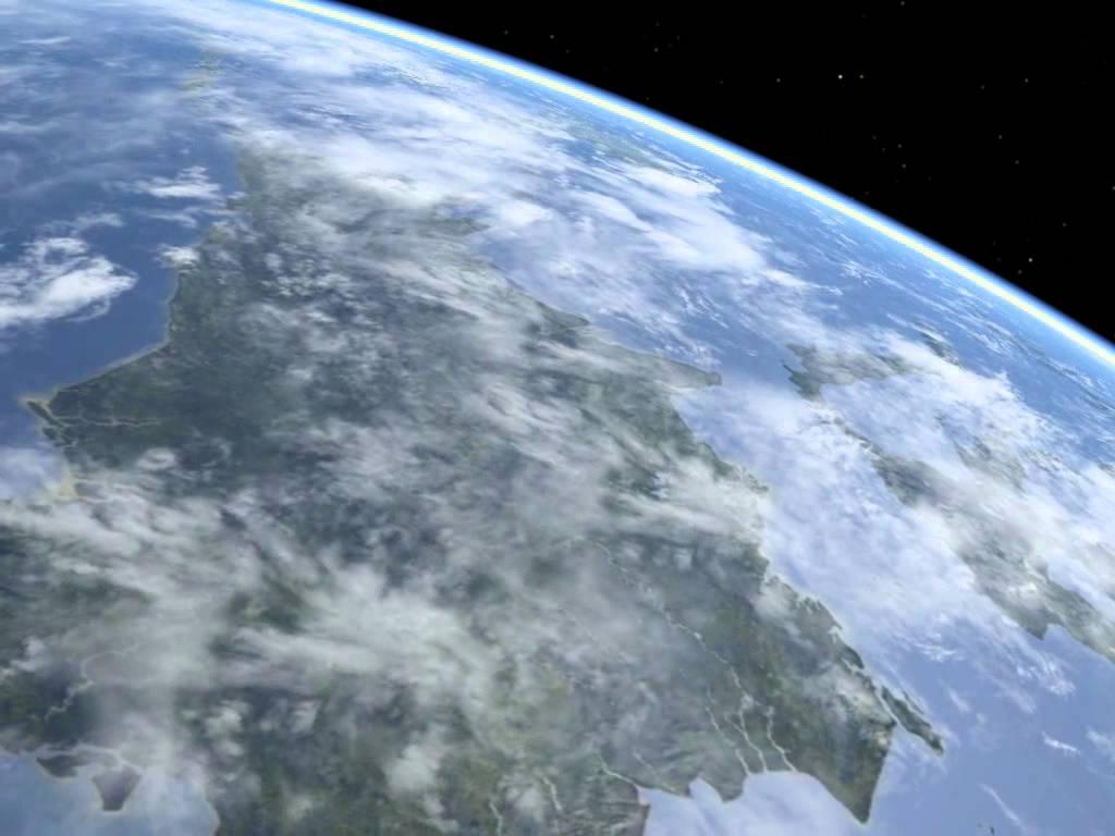 Kalimantan dari luar angkasa