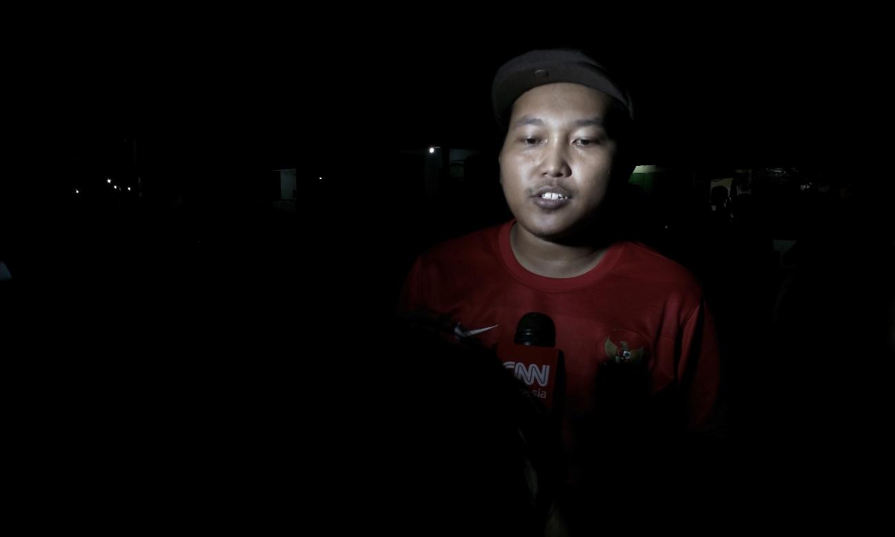 Pembina Karang Taruna RT. 04 / RW.02 Simokerto, Kenjeran Surabaya, Mustofa (Foto: Bagus DR/GNFI)