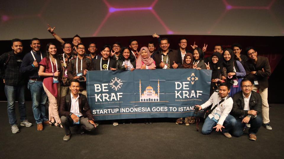 Startup-startup Indonesia yang berangkat ke Startup Istanbul 2016 (Foto: facebook.com/putry.yuli)