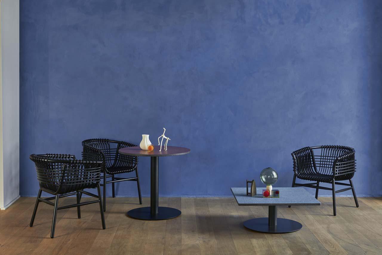 Lukis chair karya Abie yang dipamerkan Cappellini (Foto: cappellini.it)