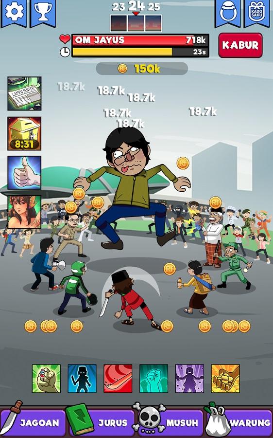 Tampilan game Tap Koruptor (Gambar: play.google.com)