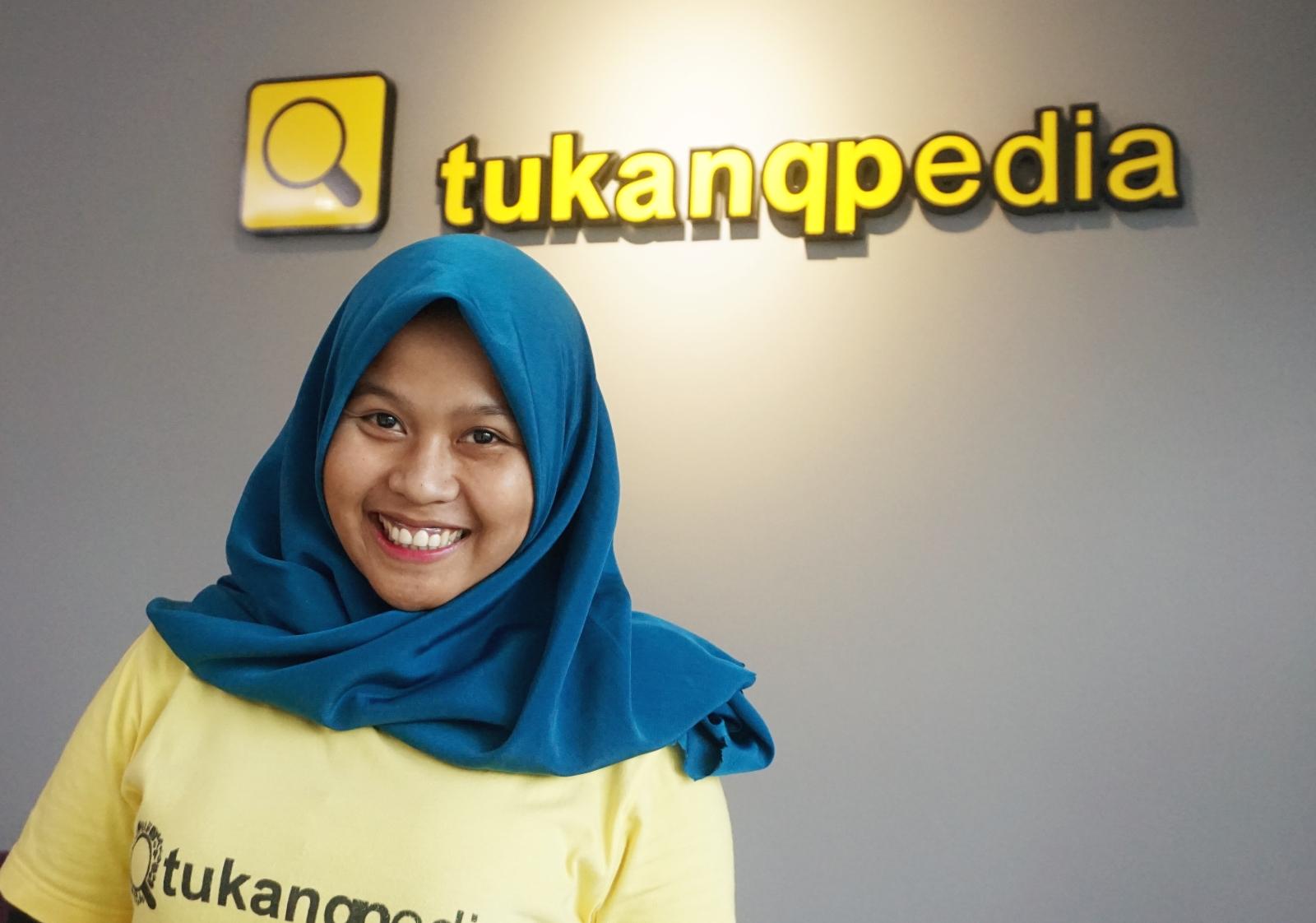 Anita Rahmawati, inisiator Tukangpedia (Foto: bagus DR/GNFI)