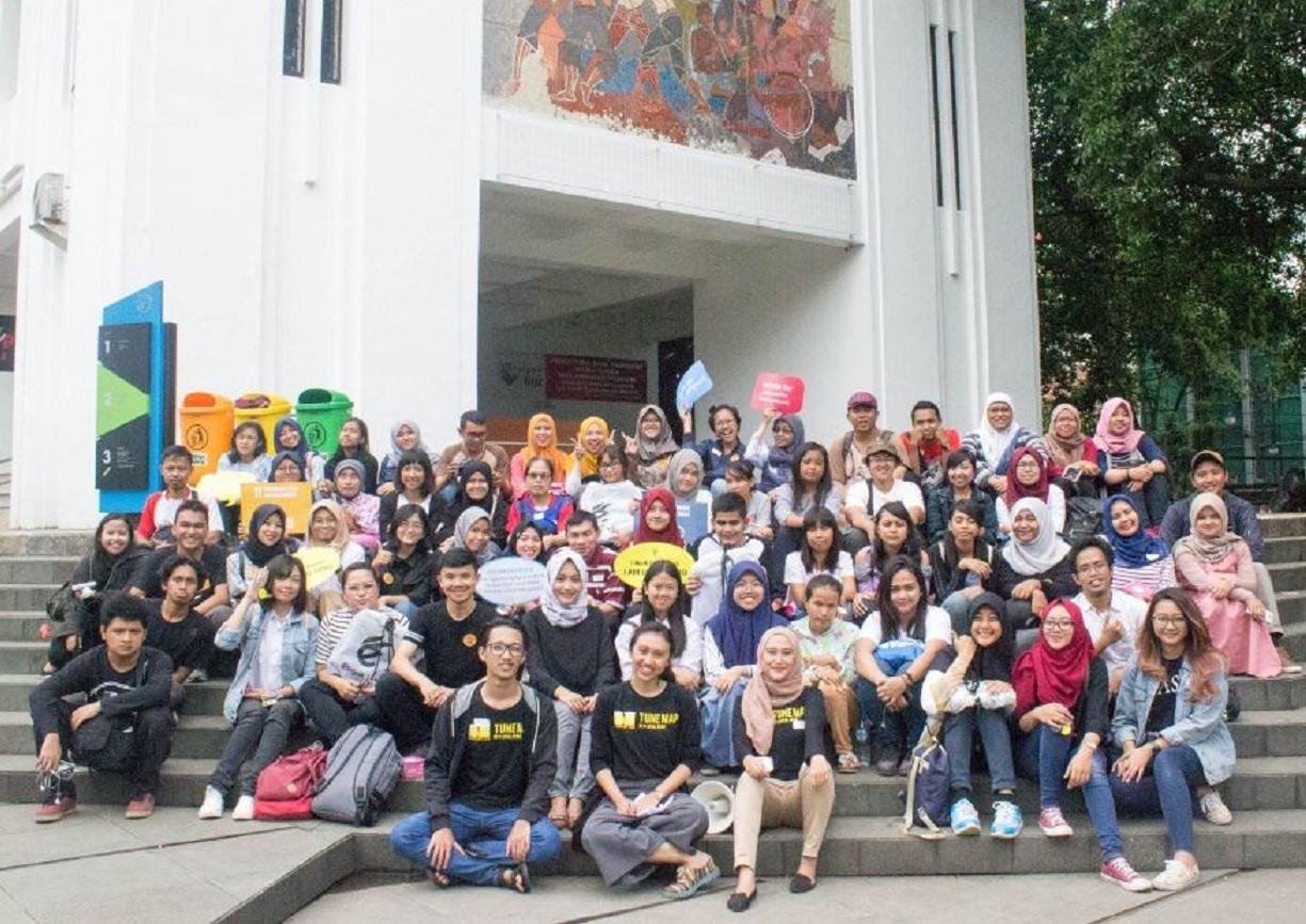Para relawan yang berkontribusi untuk pemetaan lewat Tune Map (Foto: tunemap.org)