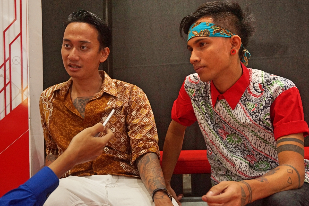 V1mast saat diwawancarai GNFI usai Apresiasi Karya Tiada Henti #untukindonesia (Foto: Bagus DR / GNFI)