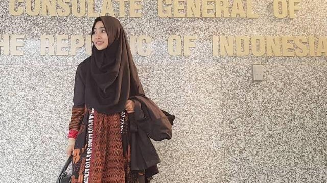 Owner Sogan Batik Rejodani, Iffah M. Dewi