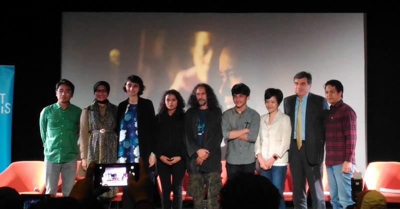 Preskon Film Marlina si Pembunuh dalam Empat Babak (vania/okezone)