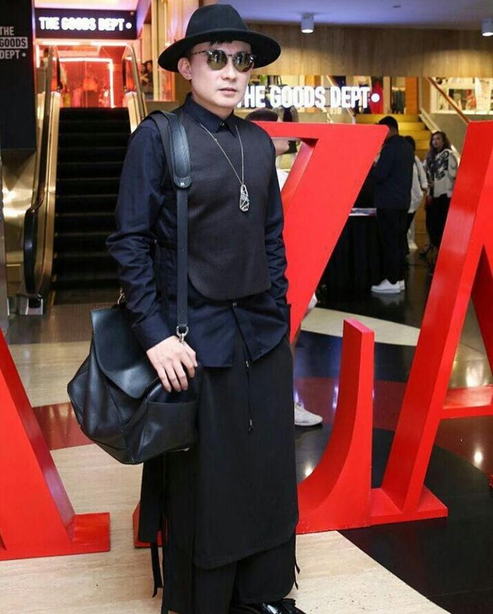 Rinaldy Yunardi di Asia Newgen Fashion Award. (Instagram/rinaldyyunardi)