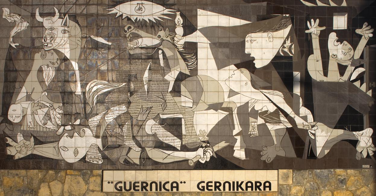 Guernica karya Pablo Picasso | Sumber: Wikipedia