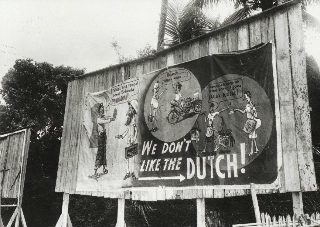 Contoh mural untuk meningkatkan semangat kemerdekaan | Sumber: Indonesia Zaman Doeloe