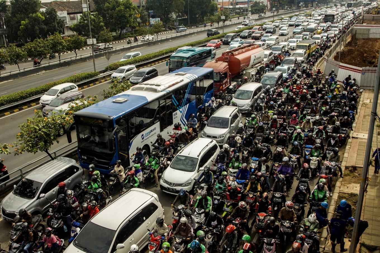 Macet, alasan klasik saat terlambat | Sumber: The Jakarta Post
