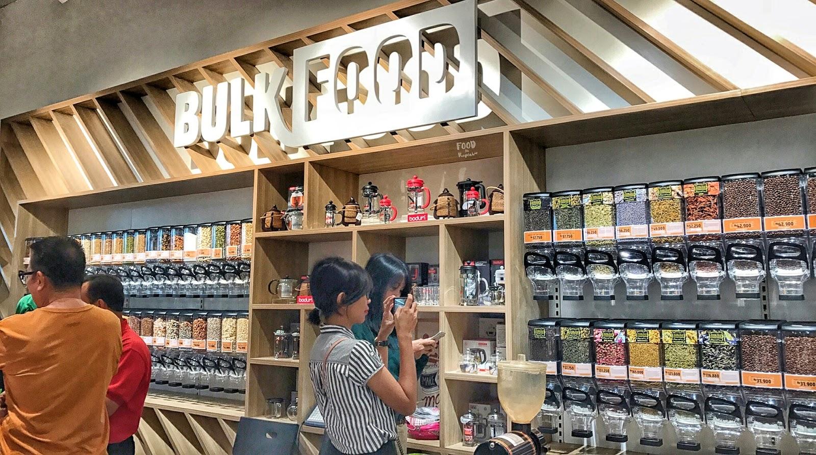 Salah satu bulk store di Serpong | Sumber: Food in Rupiah