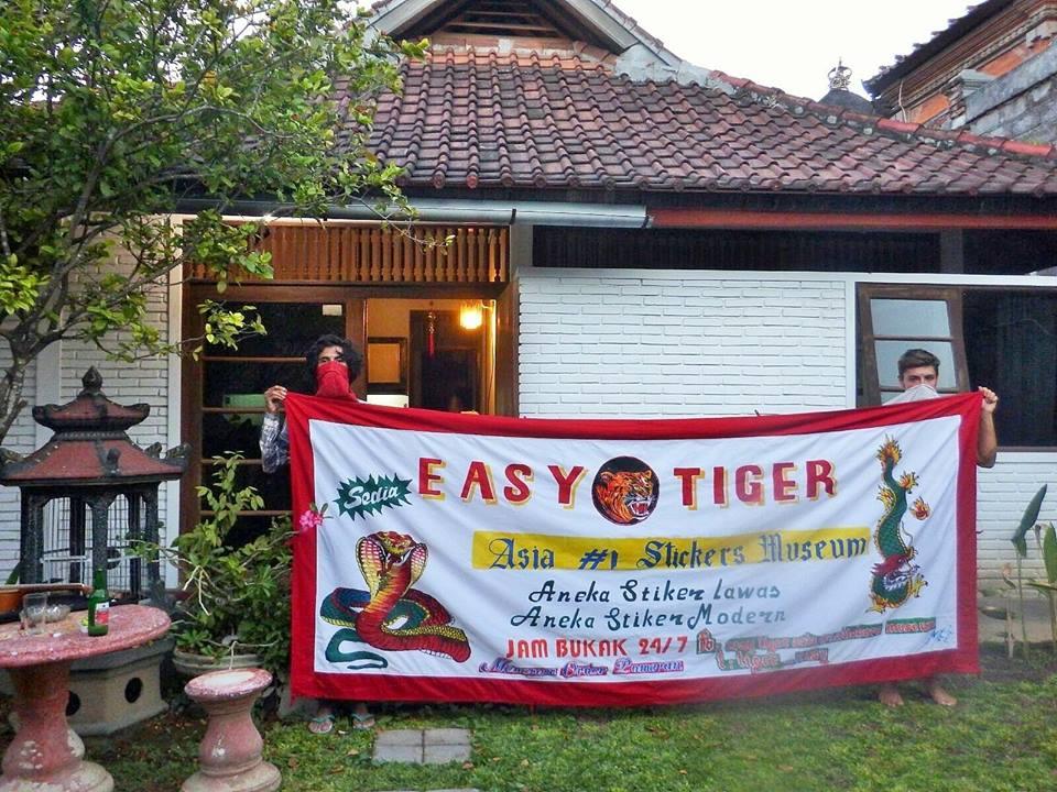 Easy Tiger, Asia #1 Stickers Museum (http://easytigerasia1ststickermuseum.blogspot.co.id/)