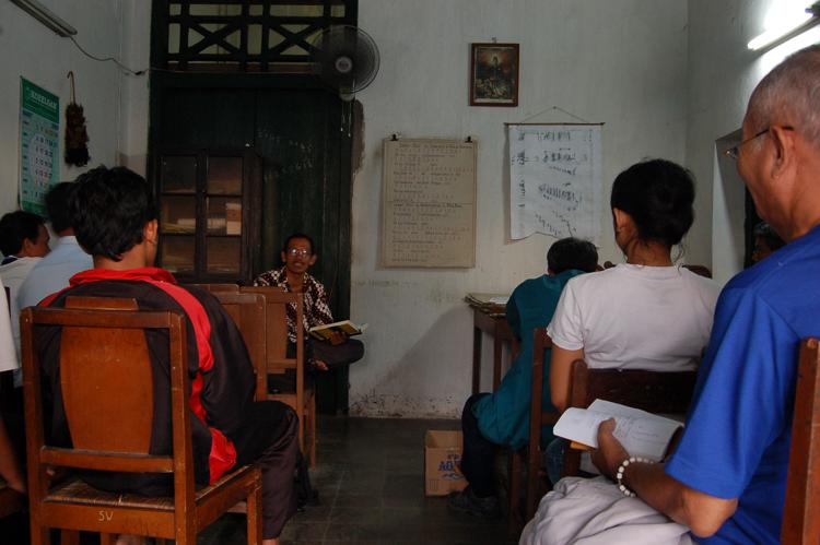 Suasana di Sekolah Macapat (geonation.wordpress.com)