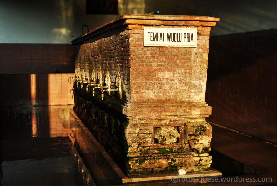 Tempat Wudhu Masjid Menara Kudus (aanprihandaya.com)