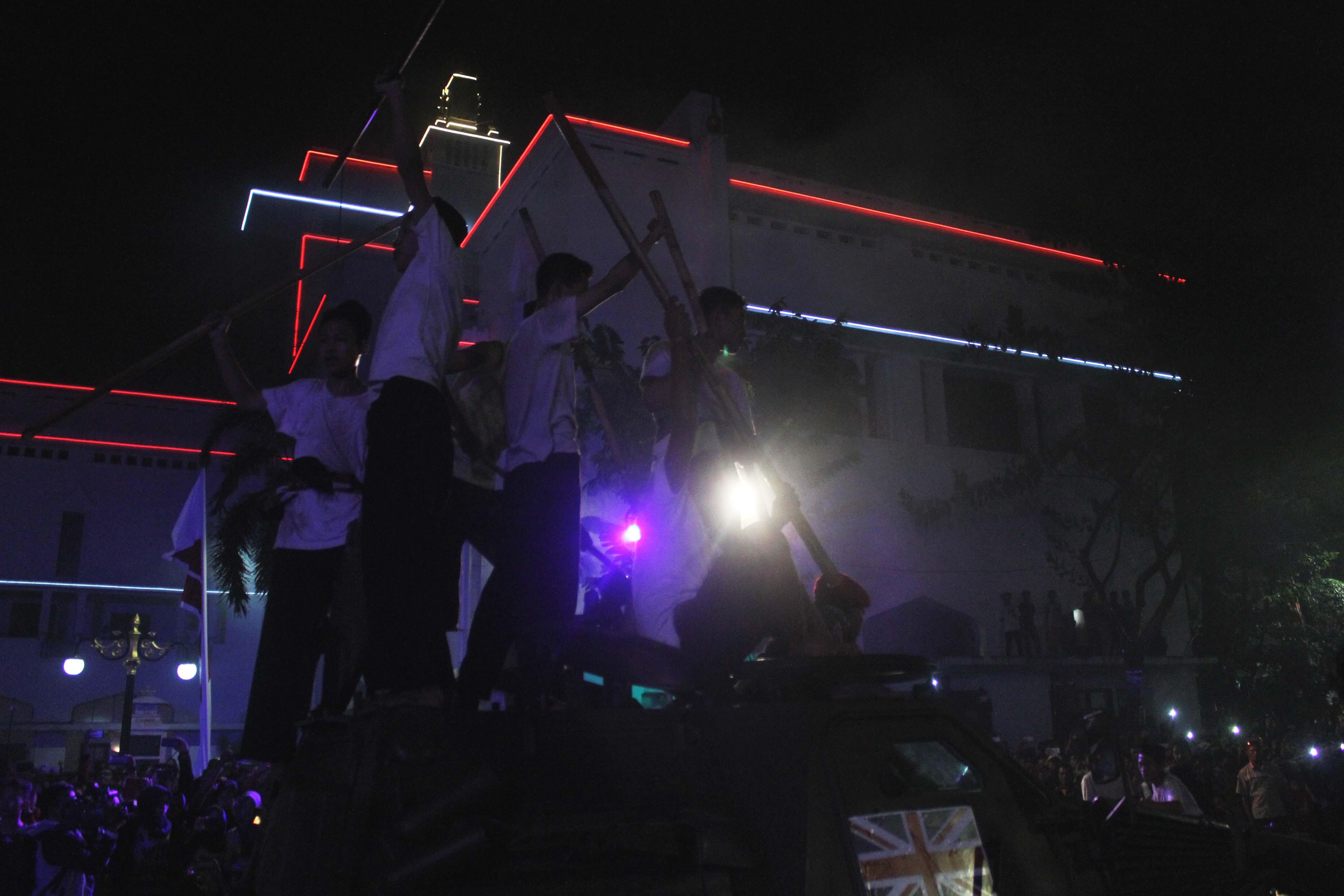 Teatrikal dalam Surabaya Membara