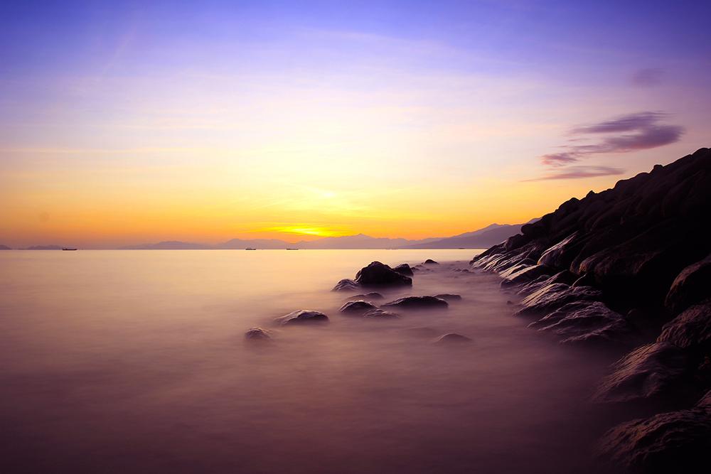 Sunrise di Pantai Paris Maumere © Boy Torkis Simarmata