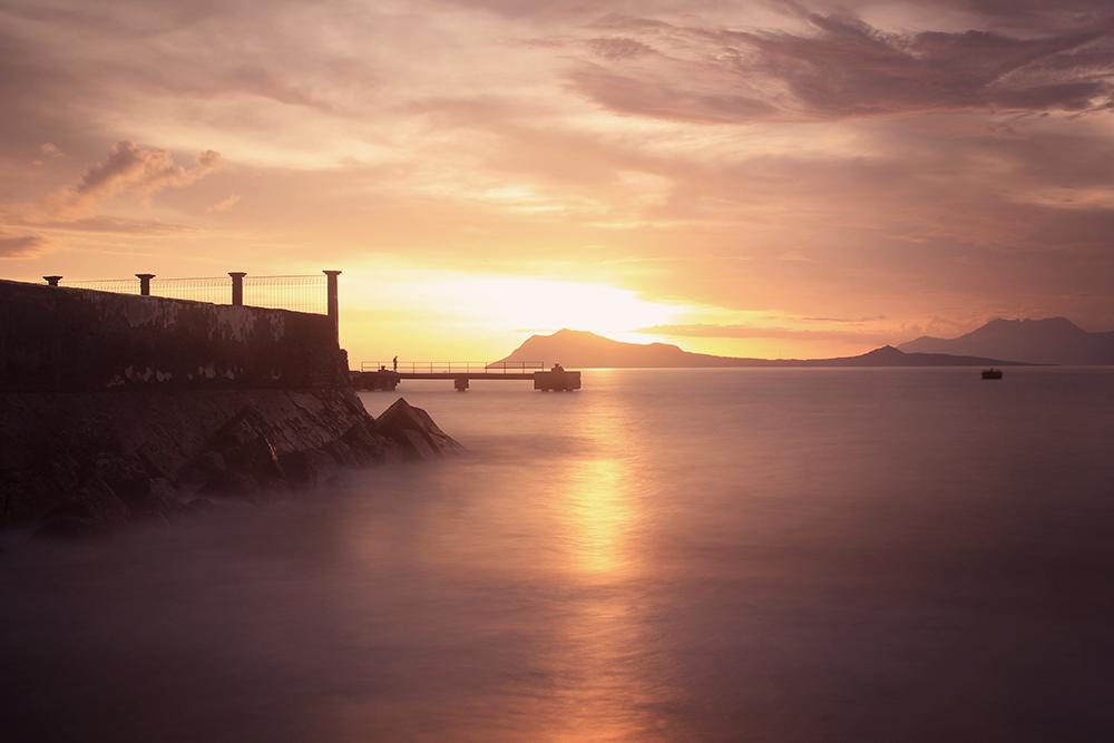 Sunset di Pantai Ria Ende  © Boy Torkis Simarmata