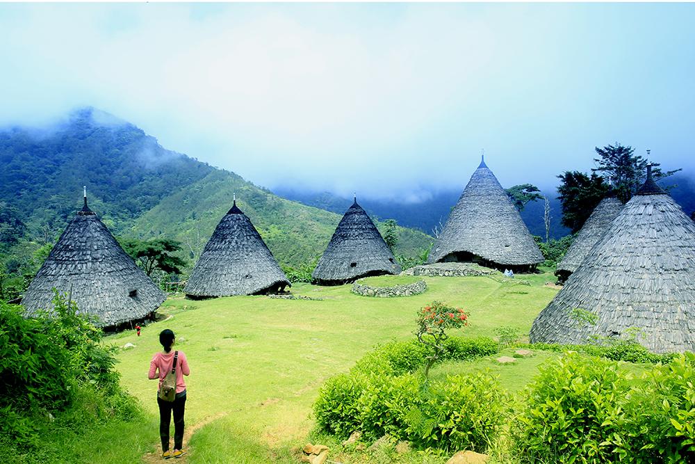 Kampung Adat Wae Rebo  © Boy Torkis Simarmata