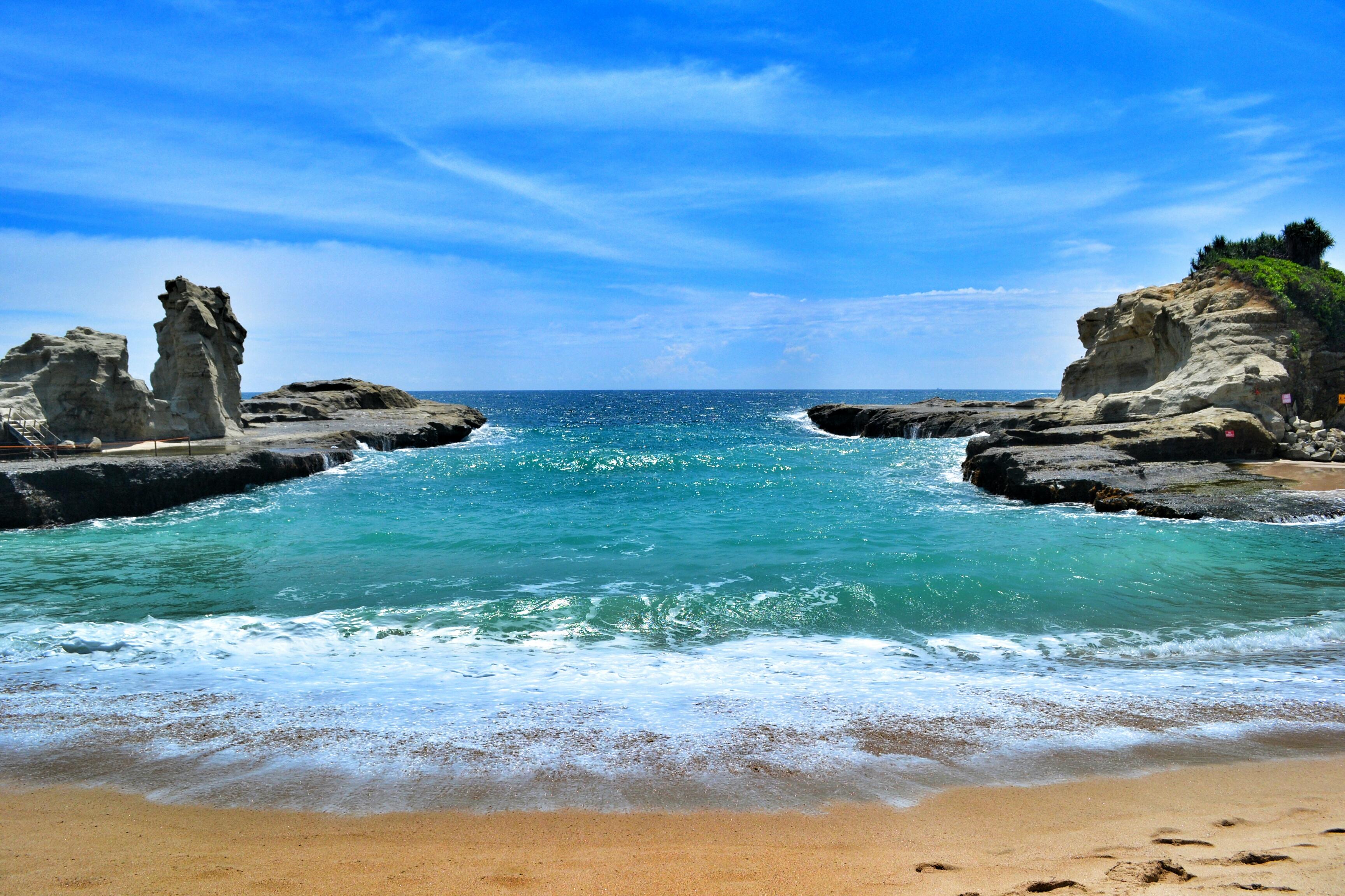 Pemandangan Pantai Klayar