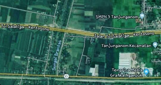 Jalan Tol Salatiga-Kertosono