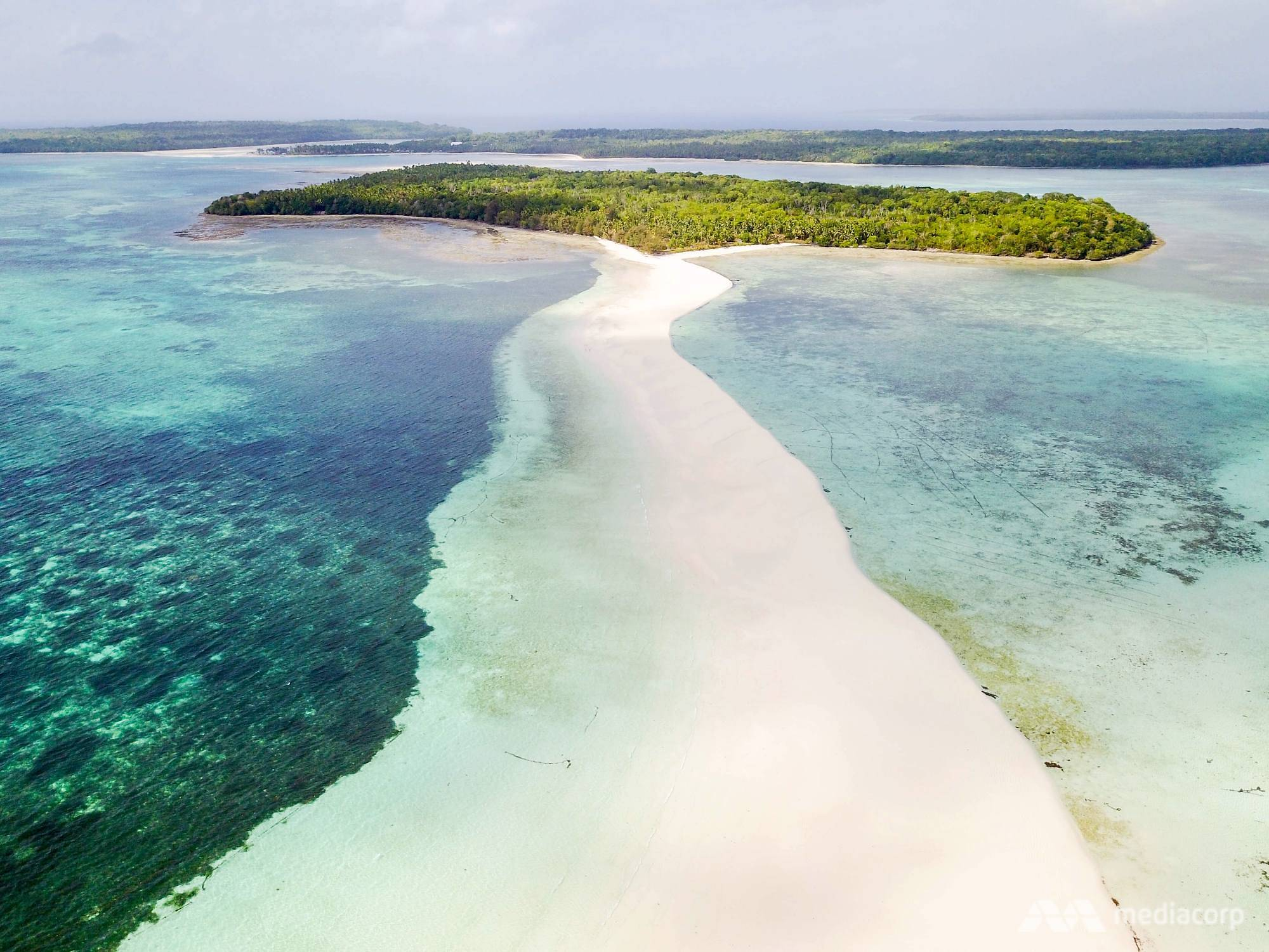 Kenampakan Pulau Kei | Foto : Channel News asia