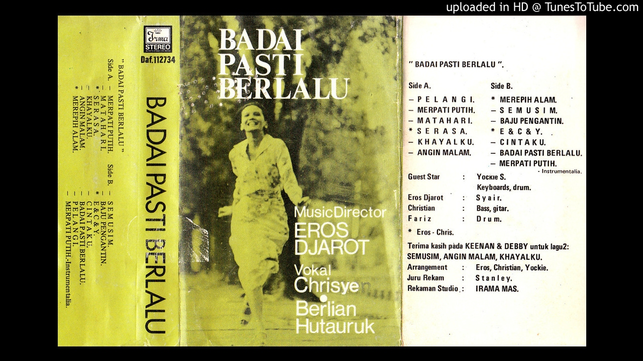 Album Badai Pasti Berlalu | Foto : liriklagu.id